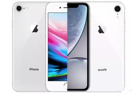 iPhone 8对比iPhone XR