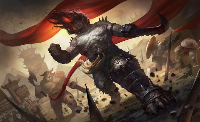兽人大�9g�h8^kʾyK�Y_魔兽兽人英雄篇:邪兽人大酋长卡加斯刃拳的坎坷一生 角斗士逆袭